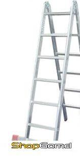 Лестница TARKO шарнирная 2-х секционная 03204