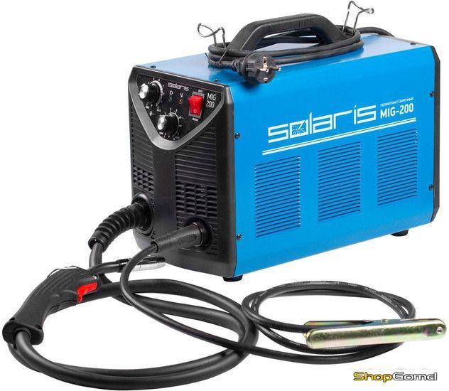 Полуавтомат сварочный Solaris MIG-200 (MIG-MAG/FLUX)