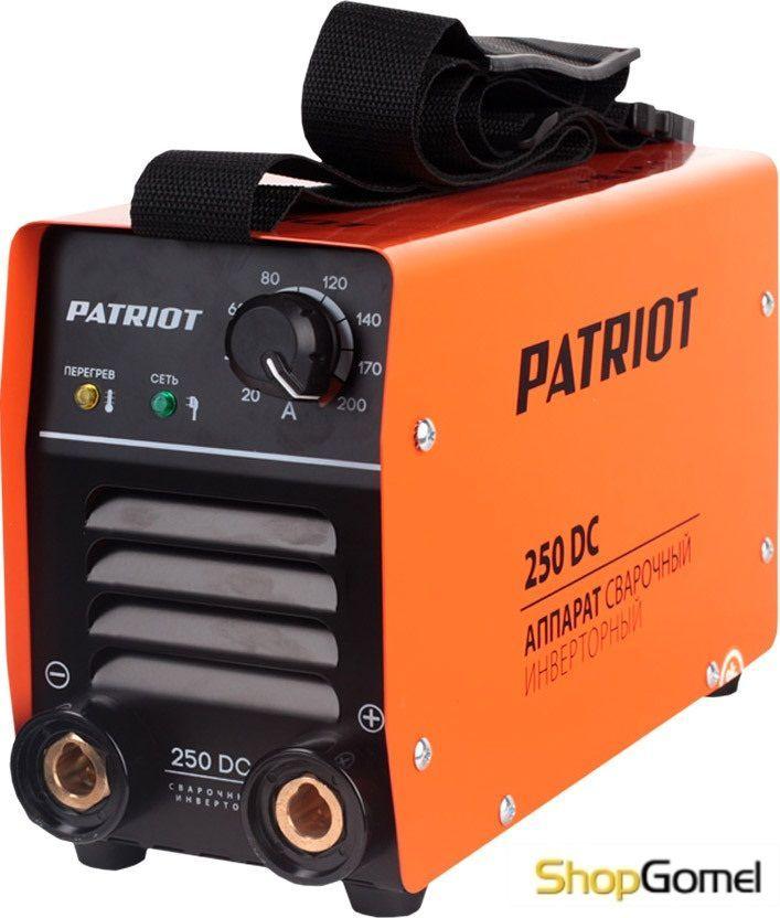 Сварочный инвертор Patriot 250DC MMA Кейс