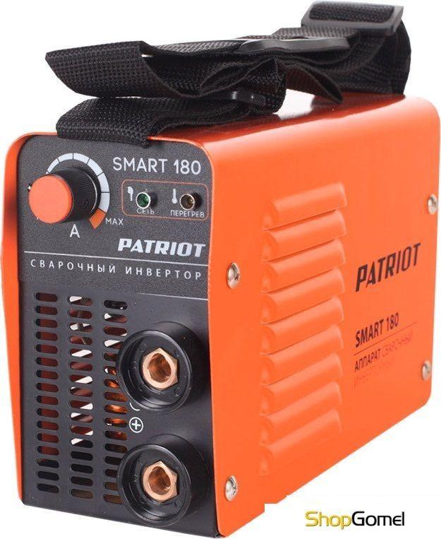 Сварочный инвертор Patriot Smart 180 MMA