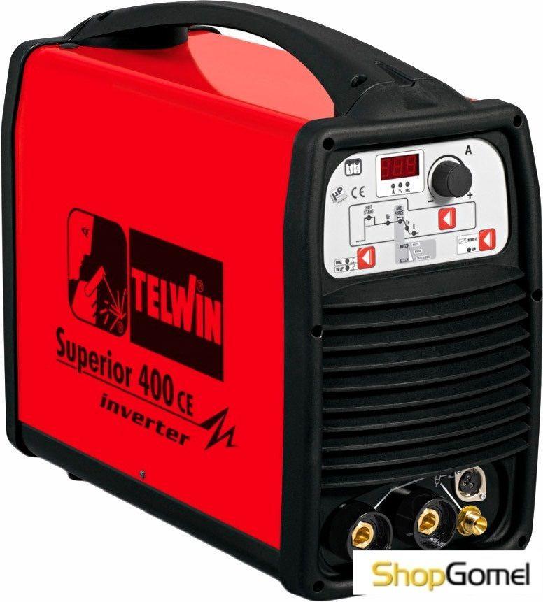Сварочный инвертор Telwin Superior 400 CE