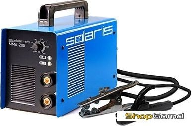 Сварочный инвертор Solaris MULTIMIG-220 + ACX (220В,10-200А)