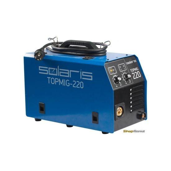 Полуавтомат сварочный Solaris TOPMIG-220 (MIG-MAG/FLUX)