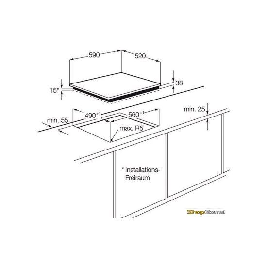 Варочная поверхность Electrolux EHF6547FOK