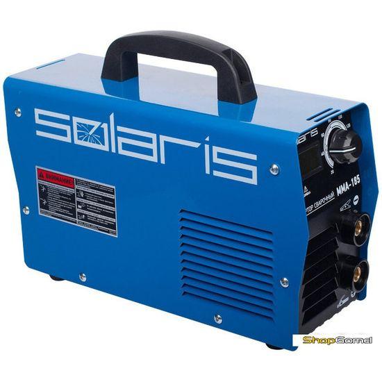Инвертор сварочный Solaris MMA-185 + AK (220В,20-185А)