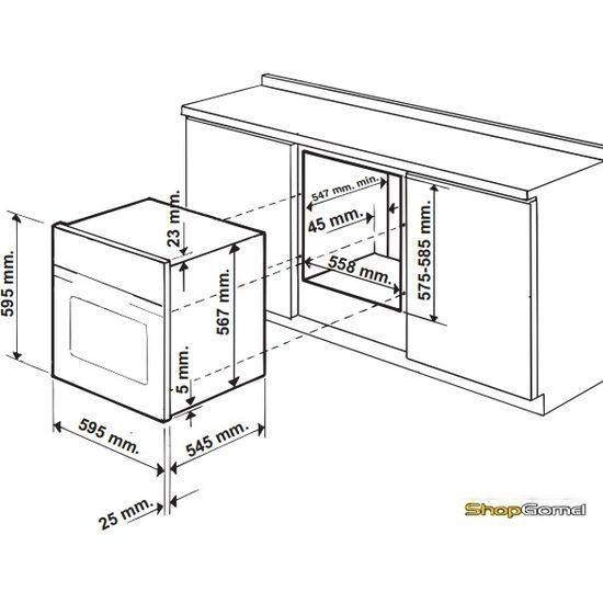 Духовой шкаф Hotpoint-Ariston FH 1039 P IX/HA S