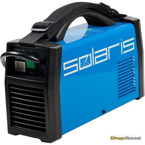 Инвертор сварочный Solaris MMA-245 + AK (220В,5-240А)
