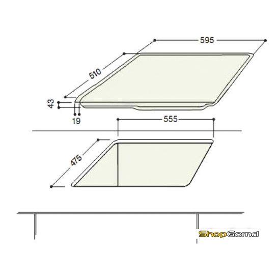 Варочная поверхность Hotpoint-Ariston TQ 640 (ICE) K GH/HA