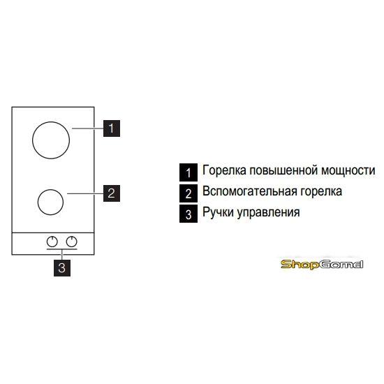 Варочная поверхность Electrolux EGG93322NX