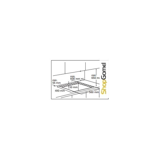 Поверхность газовая Electrolux EGT56142NK