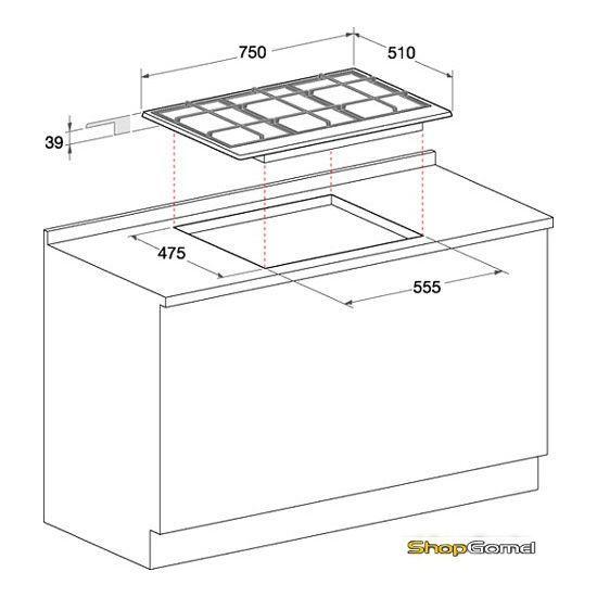 Варочная поверхность Hotpoint-Ariston PC 750 T (AN) R /HA