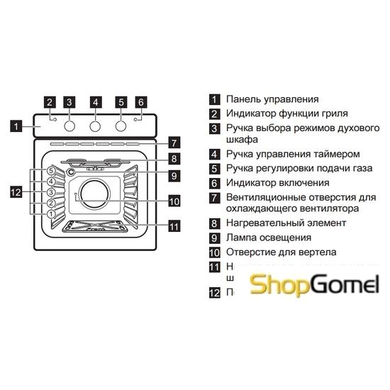 Духовой шкаф Electrolux EOG91102AK