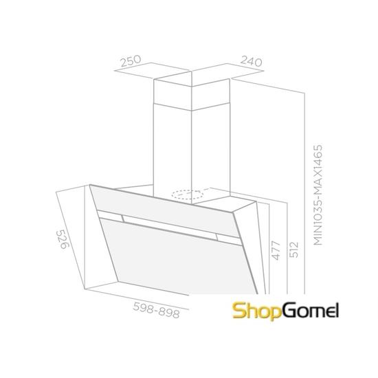 Кухонная вытяжка Elica Stripe BL/A/90/LX (PRF0100991)