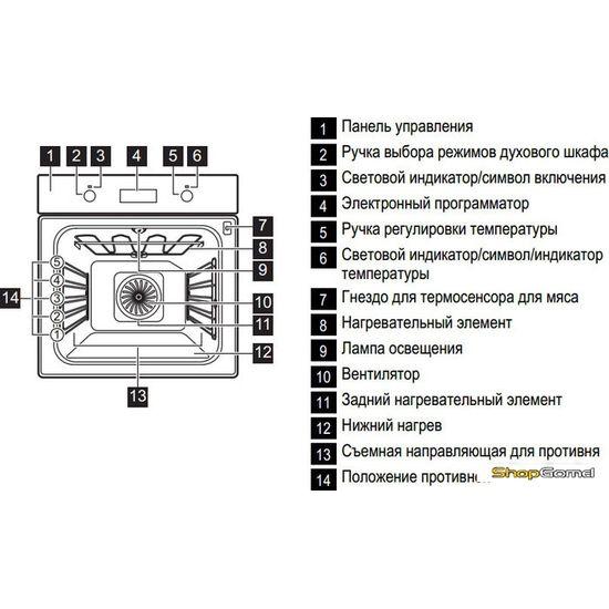 Духовой шкаф Electrolux EOA55551AK
