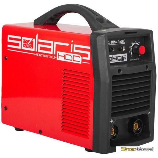 Инвертор сварочный Solaris MMA-160HD + AK (220В,5-160А)