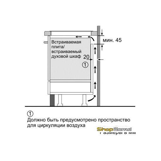 Варочная поверхность Siemens EH651FB17E