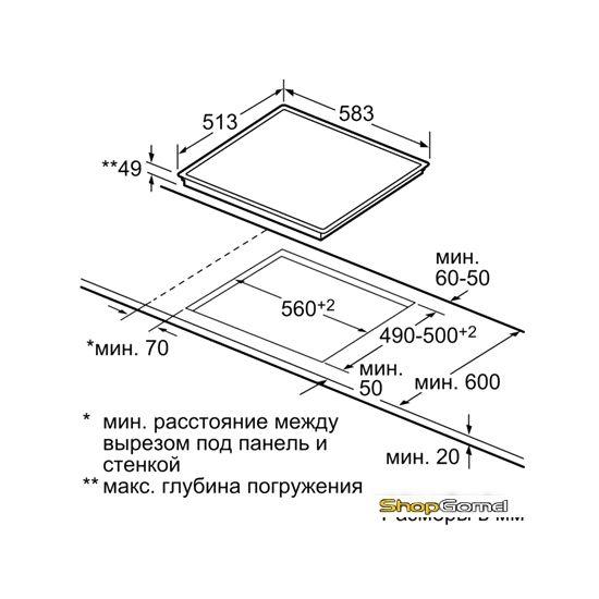 Варочная поверхность Bosch PKF642F17