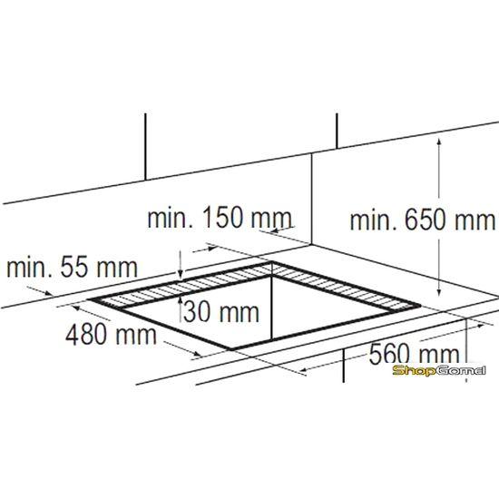 Варочная поверхность Zanussi ZGO65414BA
