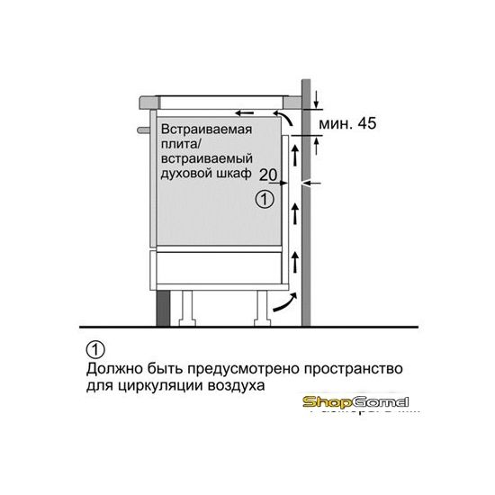 Варочная поверхность Siemens EH679MB17E