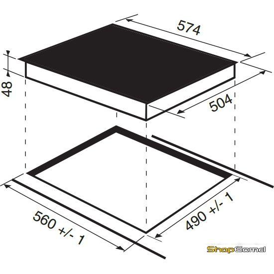 Варочная поверхность Indesit VRA 641 D X S