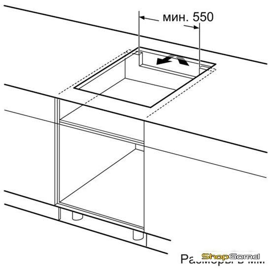 Варочная поверхность Bosch PIE651F17E