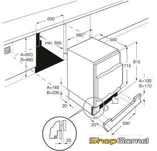 Холодильник Electrolux EUN1100FOW