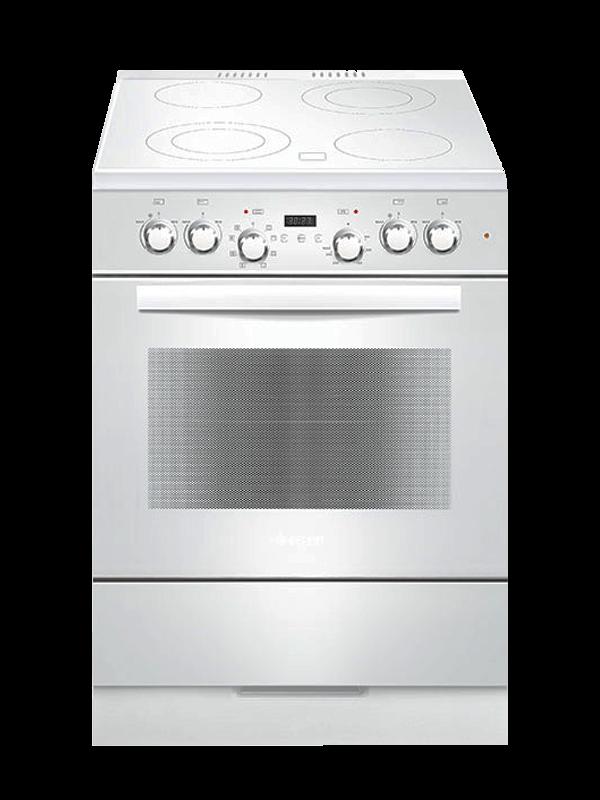 Электрическая плита GEFEST 6560-03 0039 в белом цвете
