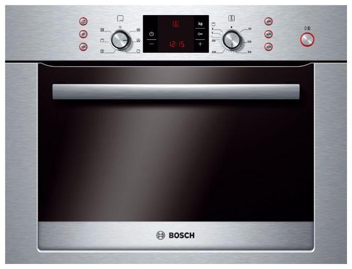 Компактный духовой шкаф с свч Bosch HBC84K553