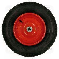 Колесо литое для тачки (ф330 мм для оси 20x95 мм) (WB-P037) (ECO)