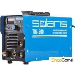 Сварочный инвертор Solaris TIG-200 + AK