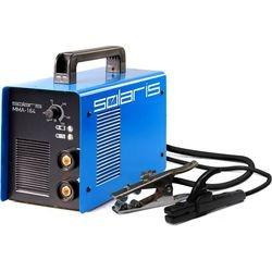 Инвертор сварочный Solaris MMA-164B + ACX (220В,10-160А) пласт. чем.