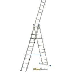 Трехсекционная универсальная лестница-стремянка Elkop HOBBY VHR H 3x9